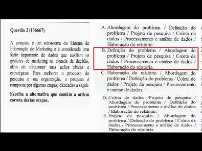 Planejamento e Inteligência de Marketing- prova Unopar- 2019 #prova1 #parte1