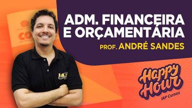 Administração Financeira e Orçamentária | Happy Hour