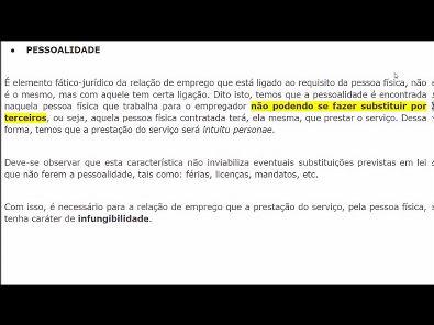 Legislação Social e Trabalhista - AULA ATIVIDADE 1 DA UNOPAR 2019 02