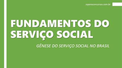 AULA FUNDAMENTOS DO SERVIÇO SOCIAL - GÊNESE (Shellen Batista)