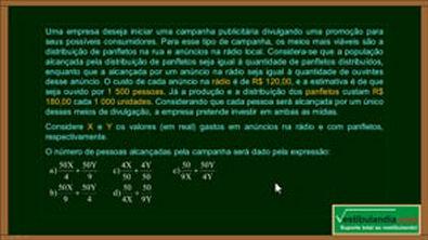 ENEM 2018 - Matemática - Questão 3