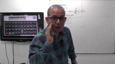Como calcular juros compostos na HP12C - Curso Completo de HP12C - Módulo Básico - Aula 40