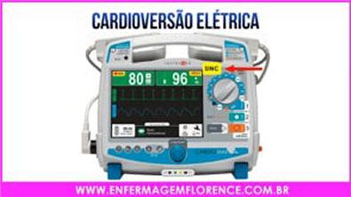 Você sabe a diferença de Desfibrilação e Cardioversão Elétrica_