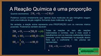 Extensivo Quimica - Aula 10 - Balanceamento e Oxirreducao - (parte 1 de 1)