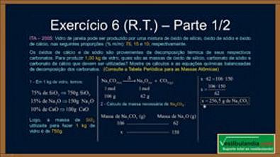 Extensivo Química - Aula 11 - Mol e Estequiometria (Calculo Estequiometrico) (parte 2 de 2)