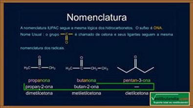 Extensivo Química - Aula 19 - Química Orgânica - Cetonas - (parte 1 de 1)