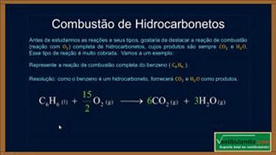 Extensivo Química - Aula 30 - Química Orgânica - Reações Orgânicas - (parte 1 de 1)