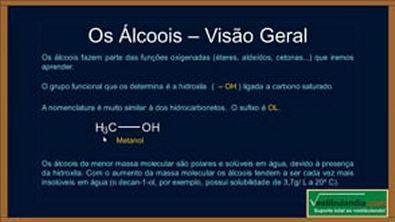 Extensivo Química - Aula 17 - Química Orgânica - Alcoois - (parte 1 de 1)