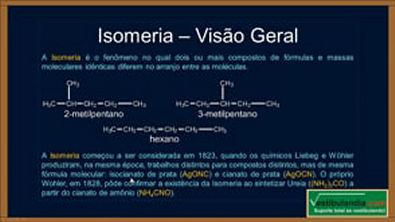 Extensivo Quimica - Aula 28 - Química Orgânica - Isomeria Plana - (parte 1 de 1)