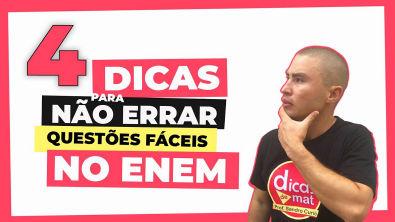 COMO ACERTAR QUESTÕES FÁCEIS DE MATEMÁTICA NO ENEM   TRI