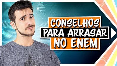 DICAS ESSENCIAIS para quem vai fazer o ENEM 2019