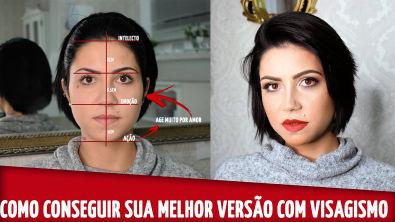 VISAGISMO NA MAQUIAGEM - Maquiagem Romântica