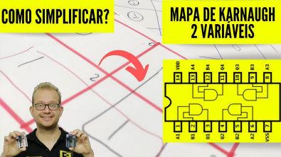 Mapa de Karnaugh de 2 Variáveis - O que é e Como usar? Eletrônica Fácil