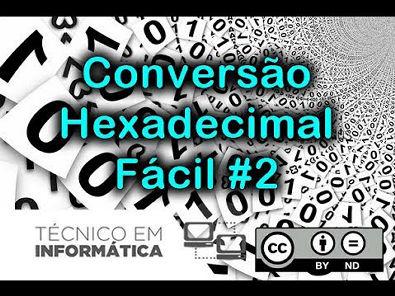 Jeito fácil e Rápido !!! Converta de Decimal para Binário para Hexadecimal #4