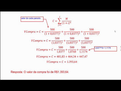 Matemática Financeira - AULA ATIVIDADE 1 DA UNOPAR 2019 02 #parte2
