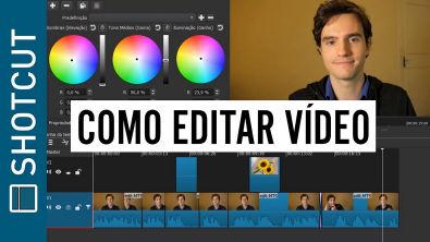 Como Editar vídeos com Editor Grátis: Aula Fácil Para Iniciantes | Shotcut: Parte 1