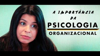 Qual a importância da PSICOLOGIA ORGANIZACIONAL?