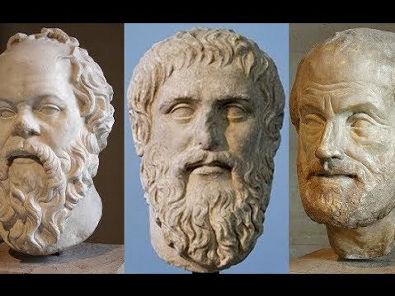 Sócrates, Platão e Aristóteles - documentário Filósofos e a Educação