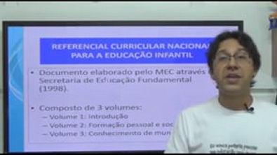 Referencial Curricular para a Educação Infantil