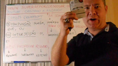 Classes Gramaticais 2: artigo, verbo, advérbio, conjunção, interjeição