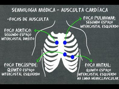 Semiologia médica Ausculta cardíaca