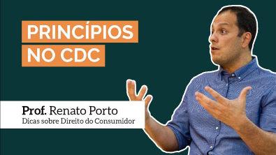 Os princípios no CDC   Prof Renato Porto