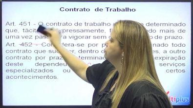 Aula Demonstrativa - Direito do Trabalho / Prof Aline Leporaci - parte 01 - Concurso público