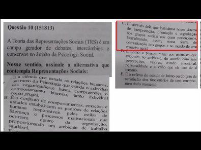 Comportamento Organizacional- prova Unopar- 2019 #prova5 #parte2