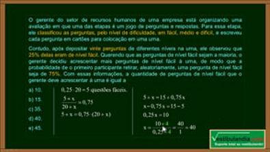 ENEM 2018 - Matemática - Questão 28