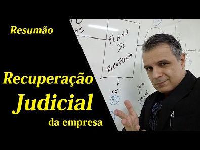 RESUMÃO - Recuperação Judicial - É isso!