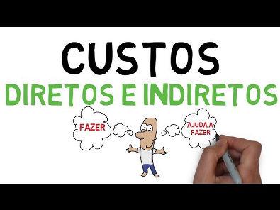AULA 2 | CUSTOS DIRETOS E INDIRETOS