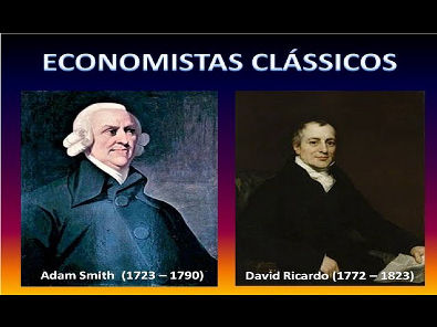 ECONOMISTAS CLÁSSICOS: ADAM SMITH E DAVID RICARDO