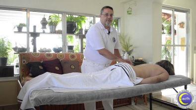 CECTH CURSO MASSOTERAPIA Manobras básicas costas Prof Rodolfo Correa Lima 05 Agosto 2015