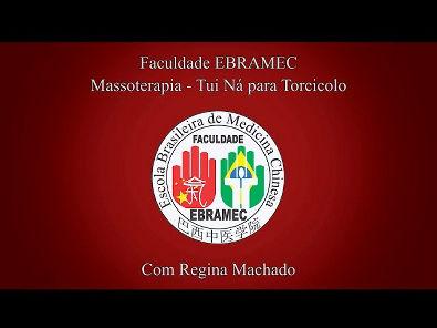 Massagem para torcicolo com técnica de Massoterapia - TuiNa com Regina Machado