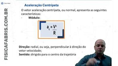 Aceleração centrípeta MCU Revisão #enem Jogo Rápido #23 [FÍSICA FÁBRIS]