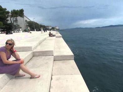 Órgão do Mar na Croácia