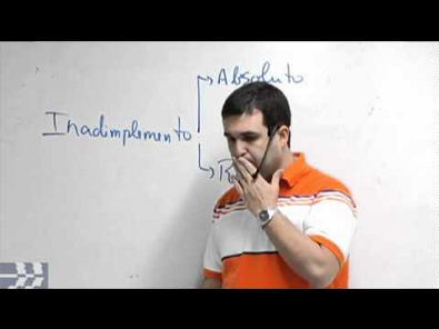Dicas OAB - Inadimplemento das Obrigações - www espacojuridico com