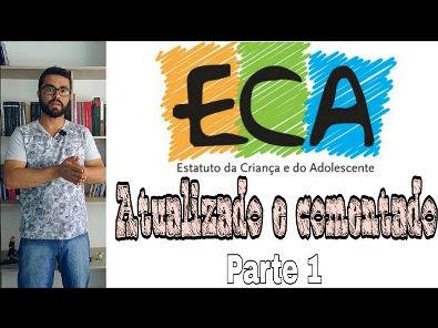 """ECA Atualizado 2019 (parte 1) Comentado artigo a artigo """"Das Disposições Preliminares"""""""