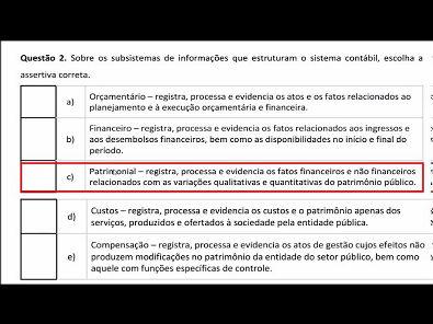 CONTABILIDADE DO SETOR PÚBLICO - AULA 01- 2019 2 UNOPAR