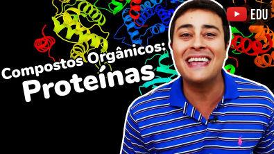 Proteínas | Compostos Orgânicos | Bioquímica | Prof Paulo Jubilut