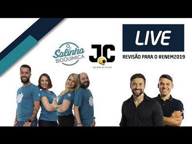(AO VIVO) - LIVE DE REVISÃO ENEM 2019