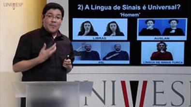 LIBRAS Aula 07 Mitos sobre as línguas de sinais Parte 1