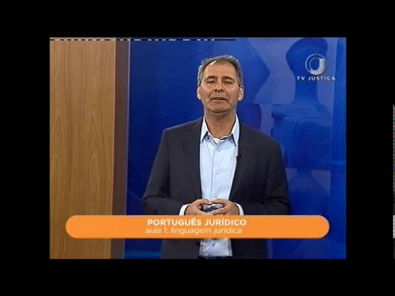 Português Jurídico - Aula 1