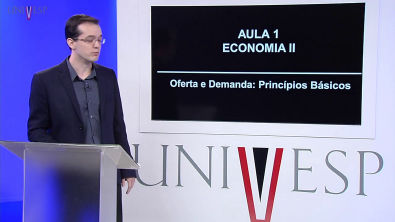 Economia II - Aula 01 - Oferta e Demanda: Princípios Básicos