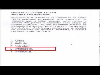 METODOLOGIA CIENTÍFICA - prova Unopar- 2018 #prova1 #parte1