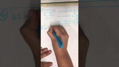 Exercícios resolvidos da Semana 4 de Físico-Química