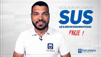 Legislação do SUS: Lei 8 080/90 Esquematizada - Adriano Oliveira