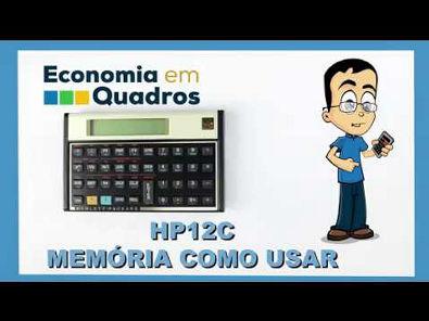 HP12C Memória como usar parte 6 de 6