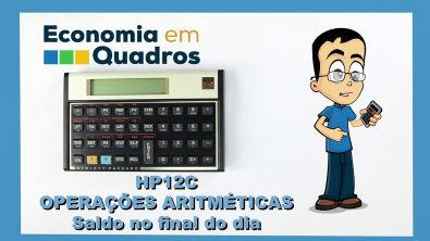 HP12C Operações aritméticas saldo do dia parte 3 de 6