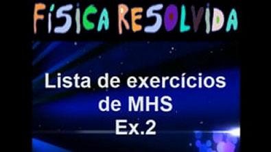 Física Resolvida - Vídeo Aula_ Lista de MHS - Questão_Exercício 2 Pêndulo Simples